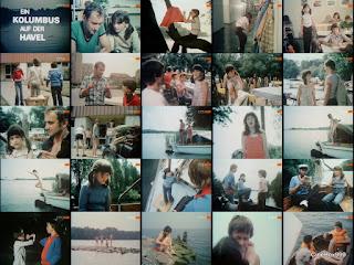 Ein Kolumbus auf der Havel. 1978.