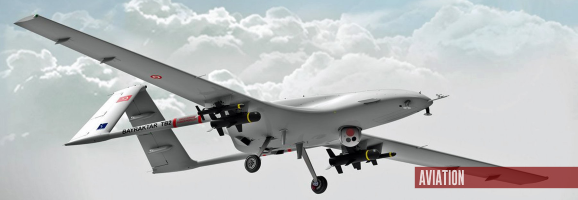 Ukraine Receives Turkish Bayraktar TB2 UAV