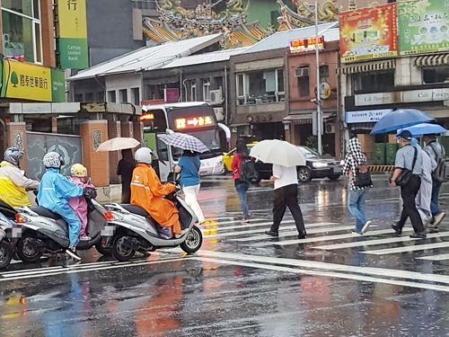 Ancaman Badai Petir Sabtu Sore di Taiwan