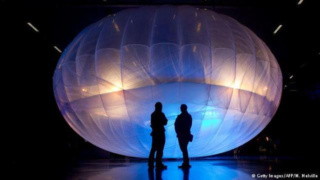 Google Akan Luncurkan Balon Internet Gratis di Indonesia by Anas Blogging Tips