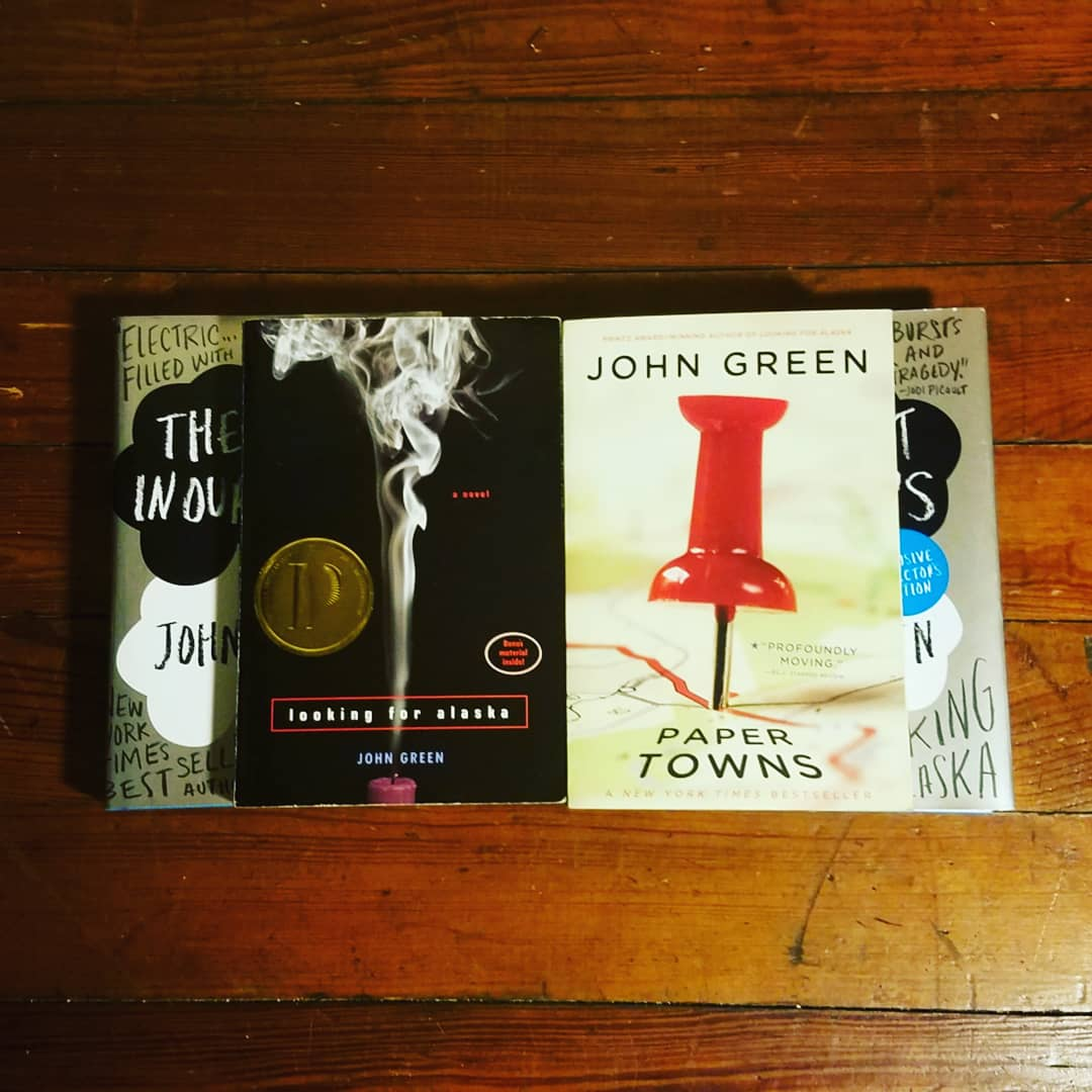 A Novel Topic: Giveaway: Four John Green Books!