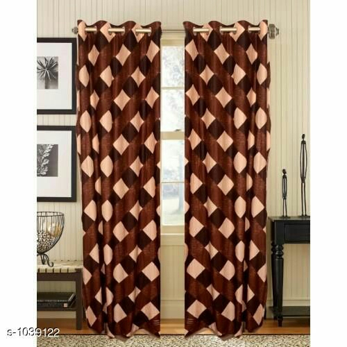 Royal Polyester Printed Window Curtain