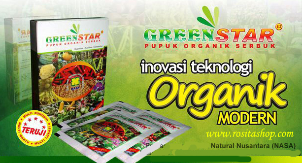 manfaat pupuk organik greenstar nasa