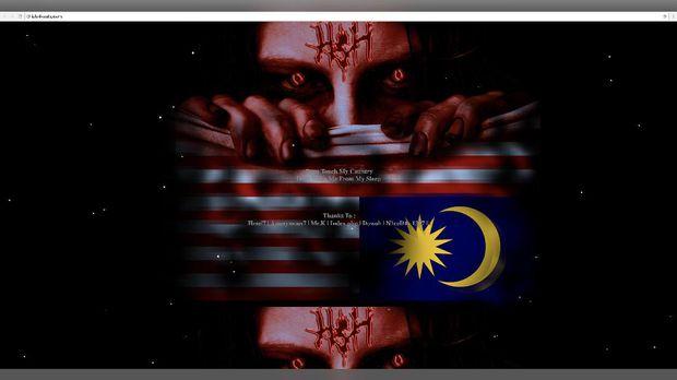"Unjuk Gigi, Aksi Peretas Indonesia ""Hacker sakit hati"" Bobol Server Malaysia"