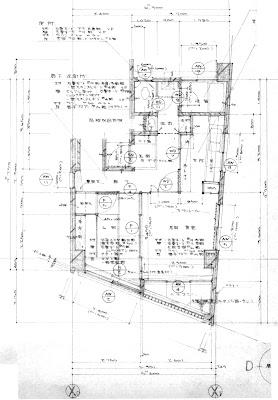 築30年超の一室をスケルトンリフォームした心地よい住まい 改修前の平面