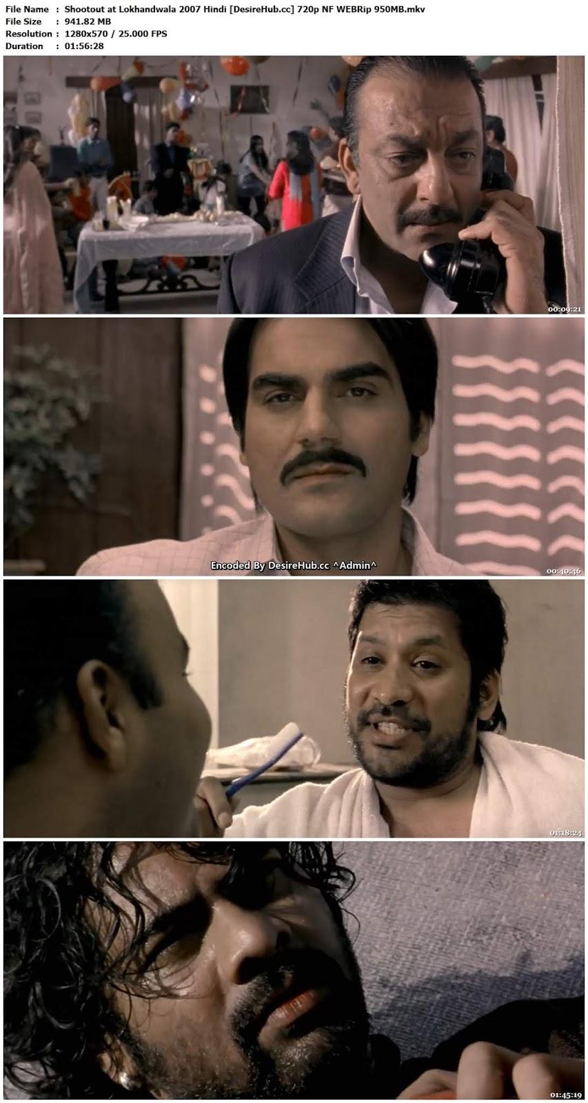 Shootout at Lokhandwala 2007 Hindi 720p NF WEBRip 950MB Desirehub