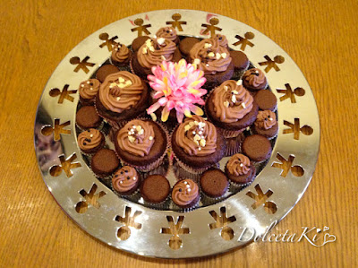 cupcake ganache