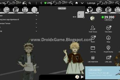 Download Tema Line Anime Black Clover
