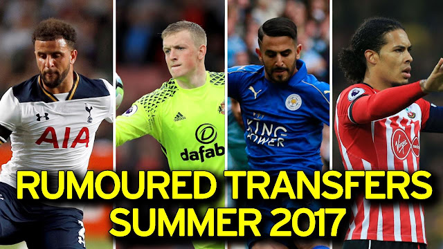 LATEST TRANSFER NEWS 07/06/2017