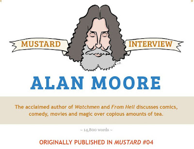 Alan Moore Mustard Interview