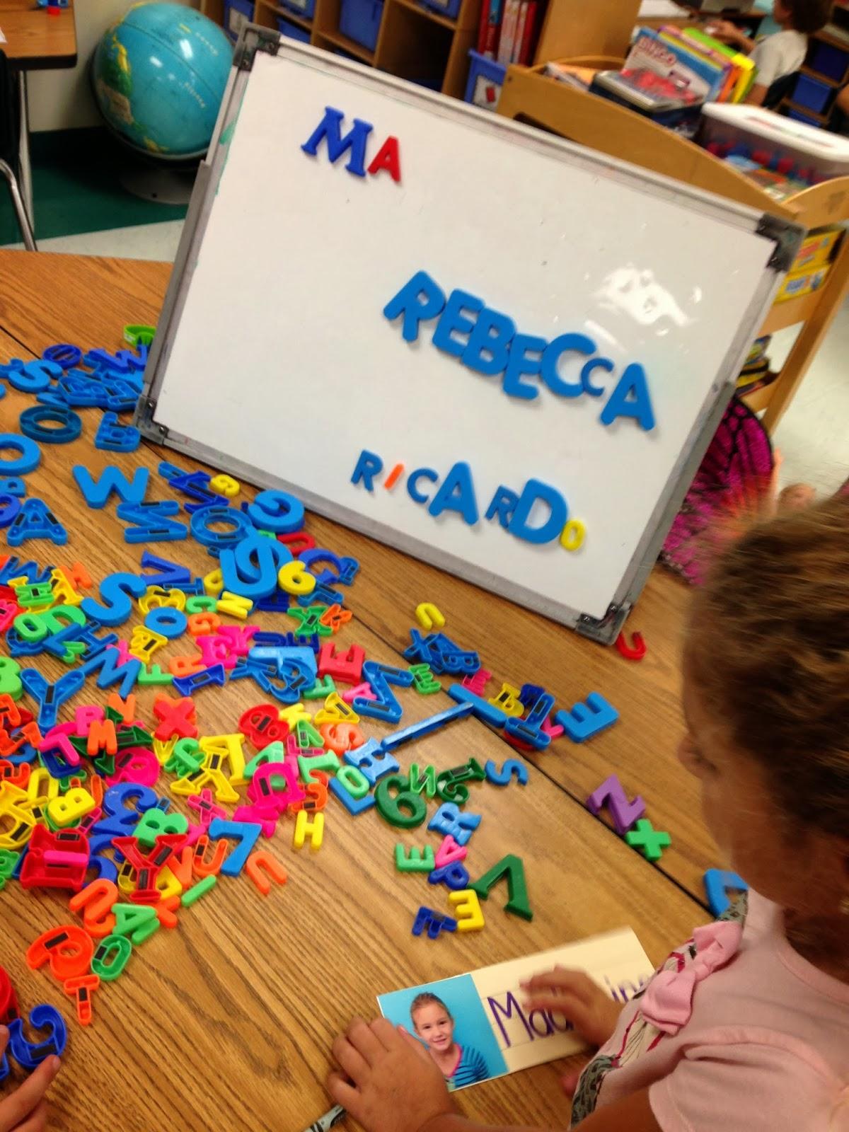 Kindergarten Smiles Word Work