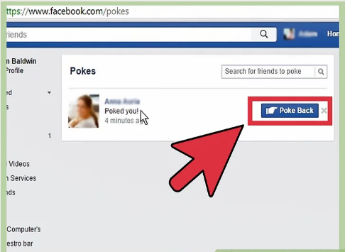 How to Poke Someone on Facebook