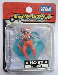 Deoxys figure normal form Tomy Monster Collection MC series