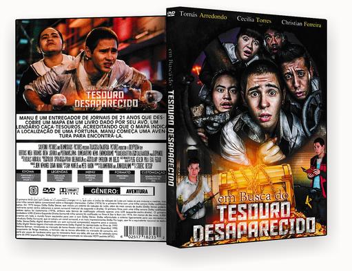 CAPA – EM BUSCA DO TESOURO DESAPARECIDO 2018 DVD-R