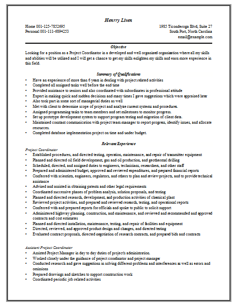 Best Ideas About Resume Cover Letter Examples On Pinterest  Examples Of Project Management Resumes