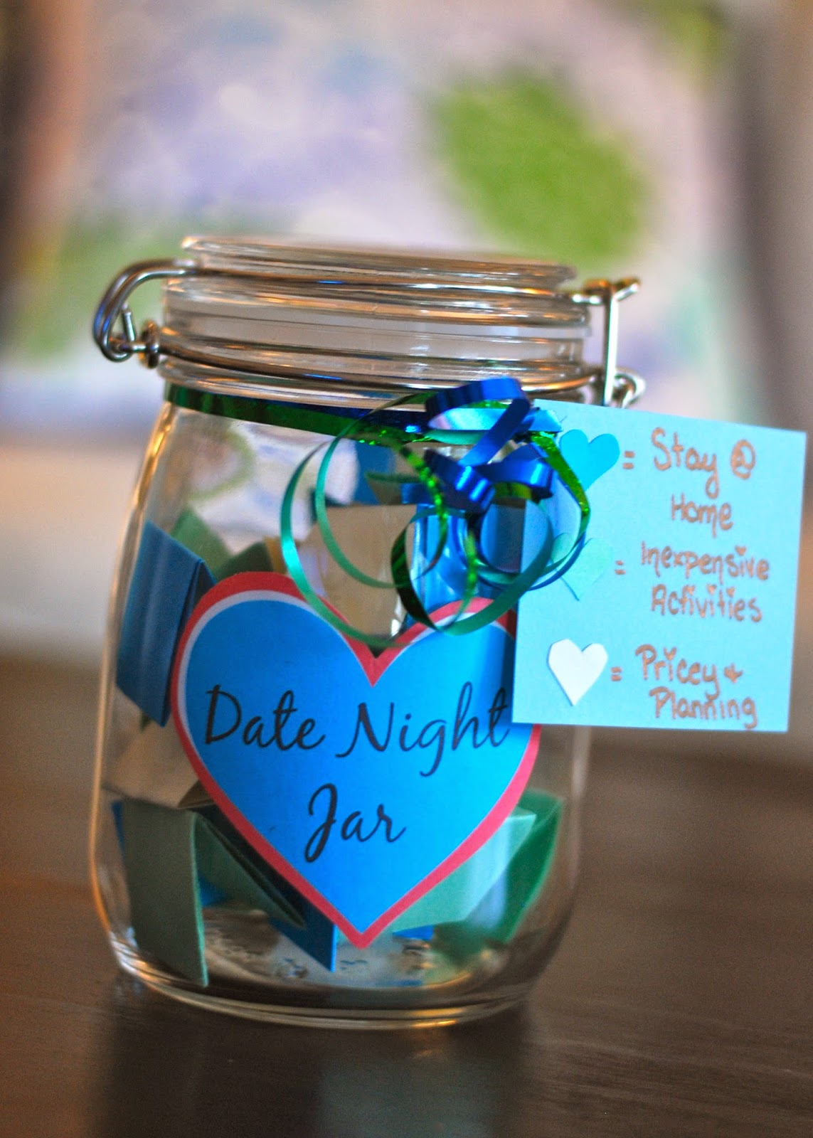 Taylored and Turquoise: DIY: Date Night Jar