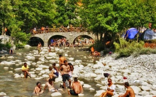 Νεστόριο: Το πριν και το μετά της γέφυρας