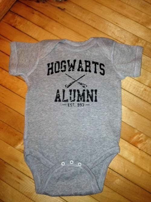 Harry Potter Cute Baby Clothes From Etsy