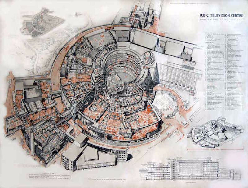 London S Hidden Tunnels These Amazing Vintage Cutaway