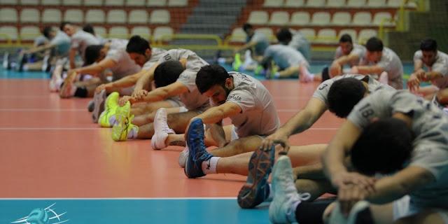 ĐTQG nam của Iran chuẩn bị chu đáo cho mùa bóng 2018