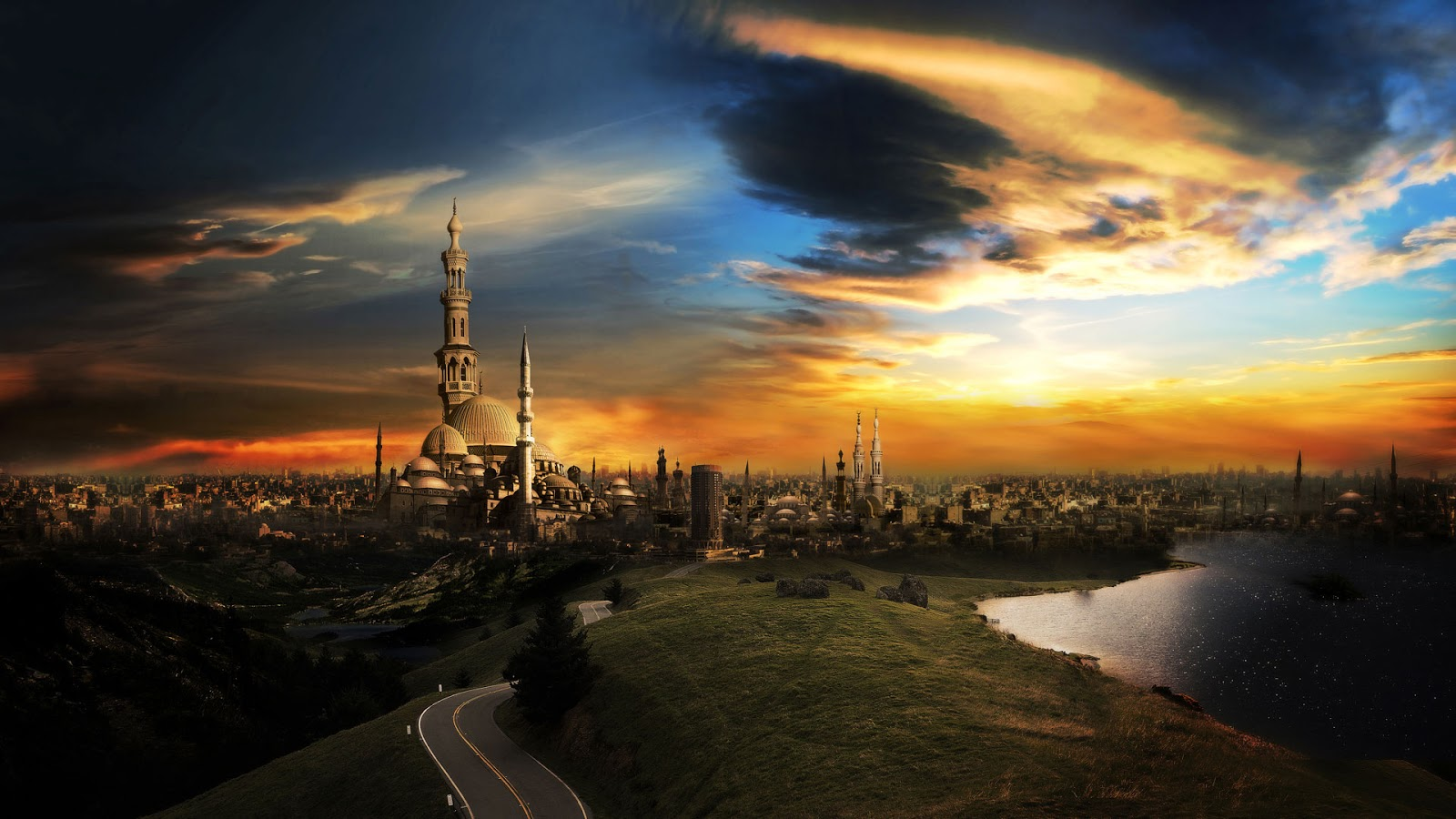 افضل الخلفيات الحضارية لاجمل المدن