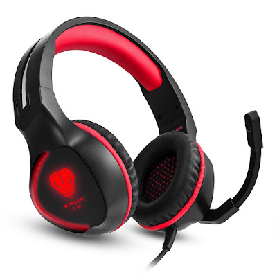 SL-100 Xbox One PS4 Stereo Gaming Headset with Mic - Only $22 99 +