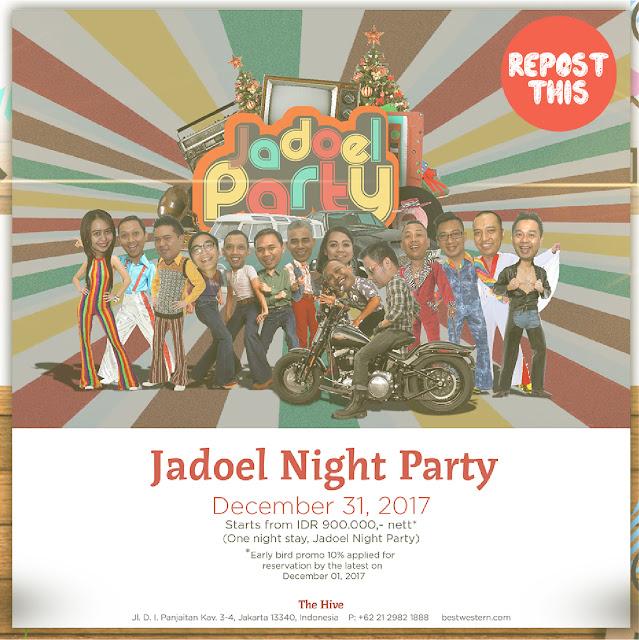 Kuis Jadoel Nigth Party // Instagram