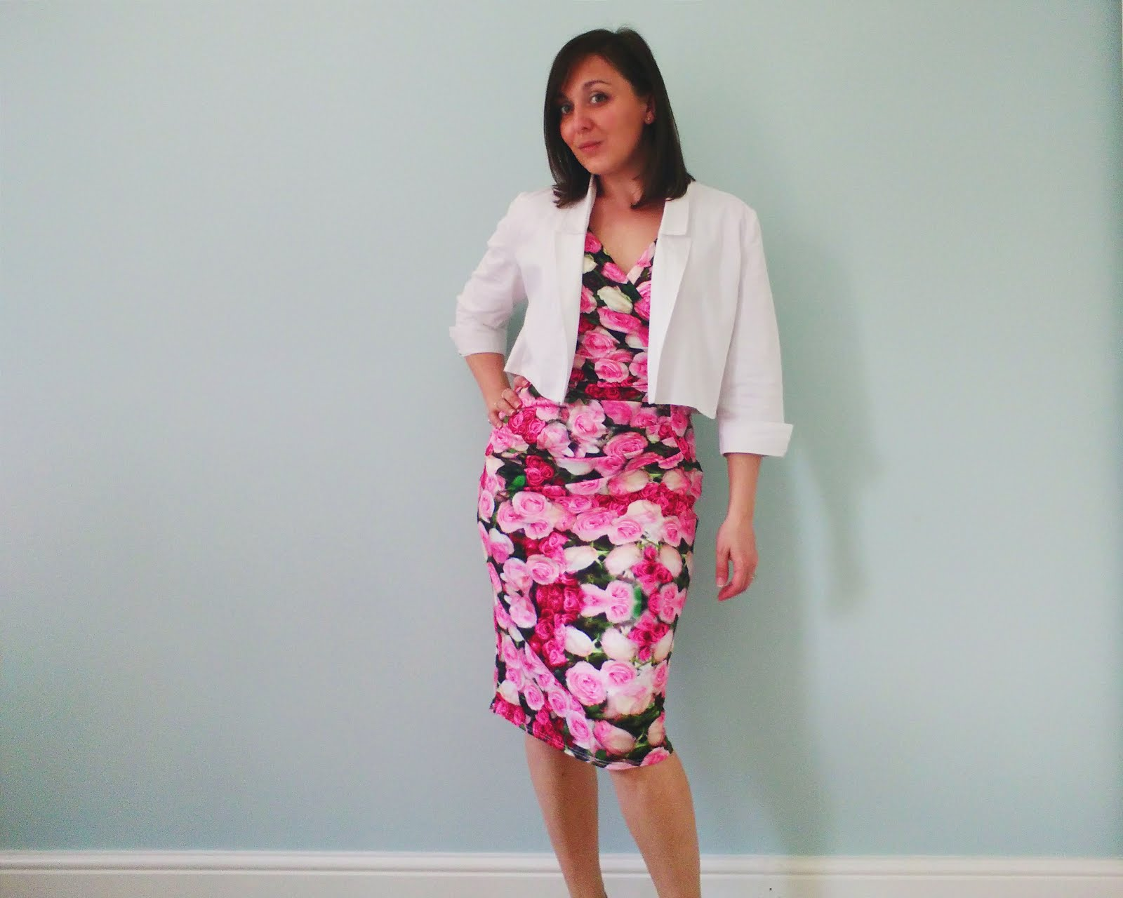 By Hand London Victoria Blazer with lined sleeves pattern review