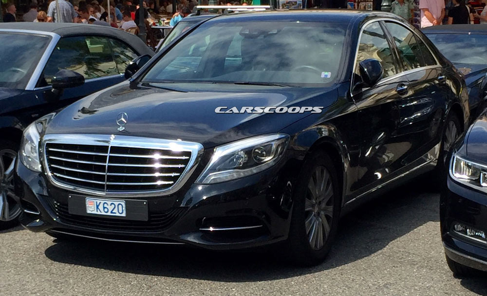 Did U Spy The Facelifted 2017 Mercedes Benz S Class
