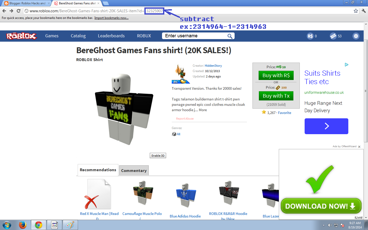 How To Roblox Shirt Ids