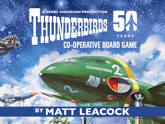 Modiphius are F.A.B. for bringing us Thunderbirds the Boardgame