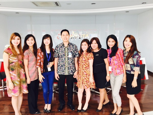 Sales Counter Tunas Toyota Pecenongan Jakarta