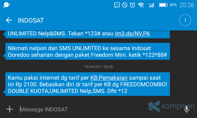 paket internet kuota habis no internet access