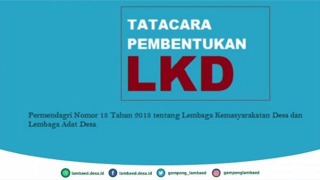 Tatacara Pembentukan Lembaga Kemasyarakatan Desa (LKD)