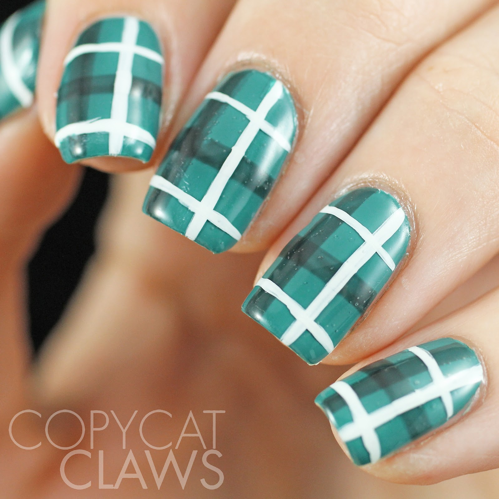Copycat Claws 40 Great Nail Art Ideas Teal