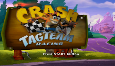 Download Crash Tag Team Racing (CTR) PS2/PCSX2 ISO High Compress