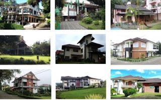VILLA UNTUK REUNI DENGAN KONSEP FAMILY GATHERING DI LEMBANG