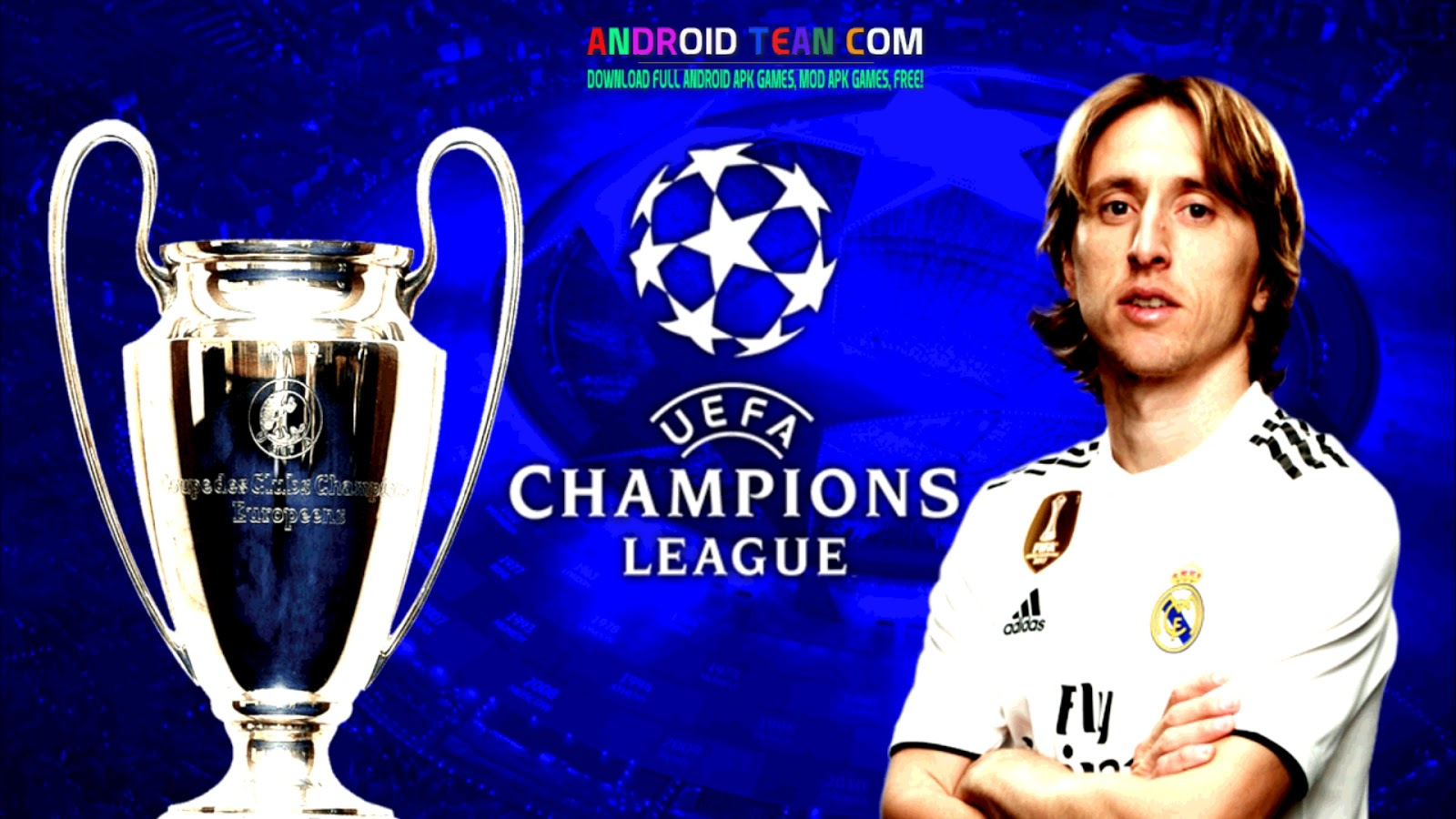DLS 2019 UEFA Champions Android Mod APK+Data [Unlimited Money