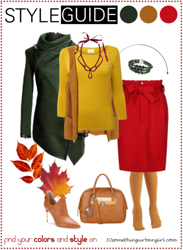 Bundle up for cold weather, chic outfit idea for Warm Autumns