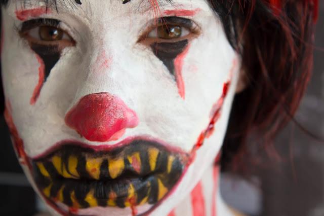 Mon tout premier Clown Terrifiant pour le Art&Freak Show !