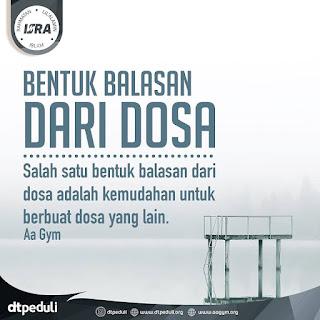 Bentuk Balasan Dari Dosa - Qoutes - Kajian Islam Tarakan