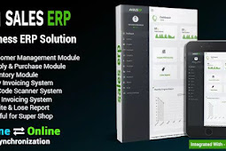 ERP v8.1.0 - Business ERP Solution / Product / Shop / Company Management - nulled