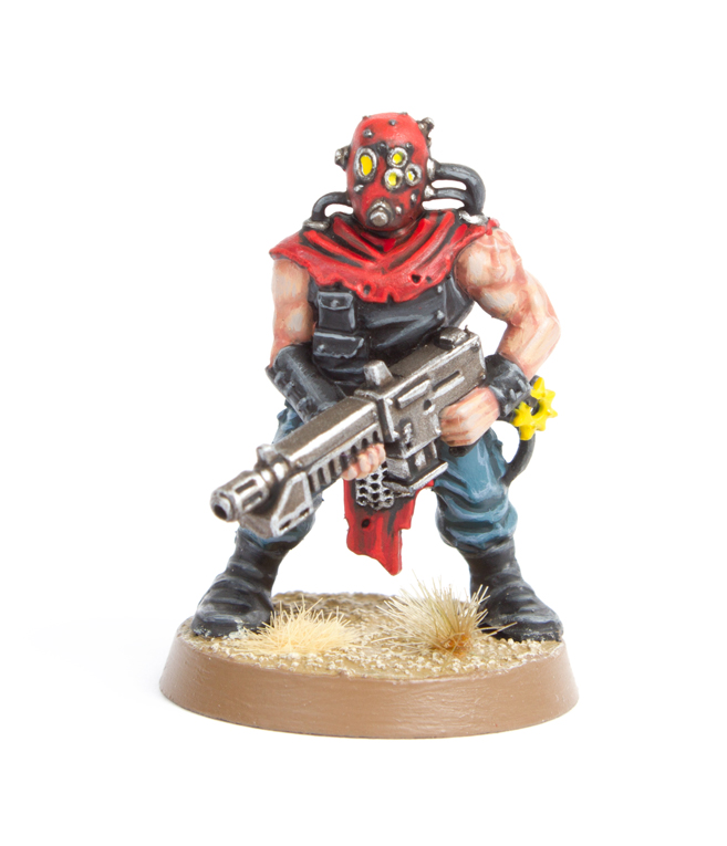 Tales of Painters: Tutorial: How to Paint Chaos Cultists from Dark Vengeance