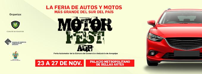 Motor Fest AQP - del 23 al 27 de noviembre