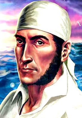 Dibujo de José Olaya a color