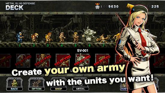 Metal Slug Defense Mod Apk Download