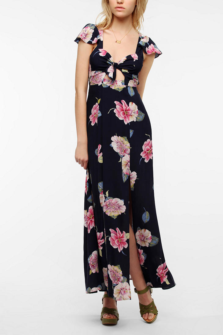The Reformation Floral Fauna Dress