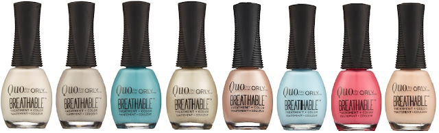 Quo by Orly Breathable Treatment + Color new shades - with swatches!