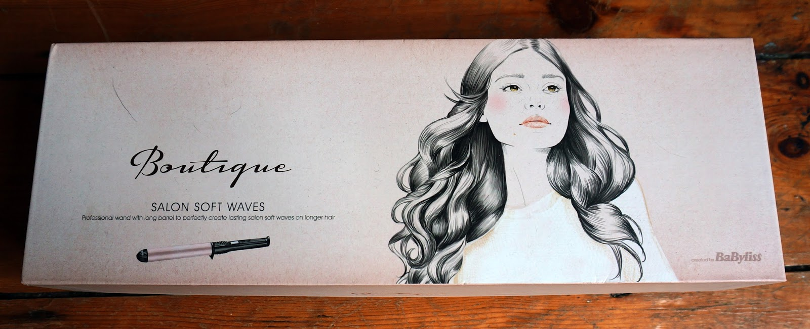 Babyliss Boutique Salon Soft waves in box