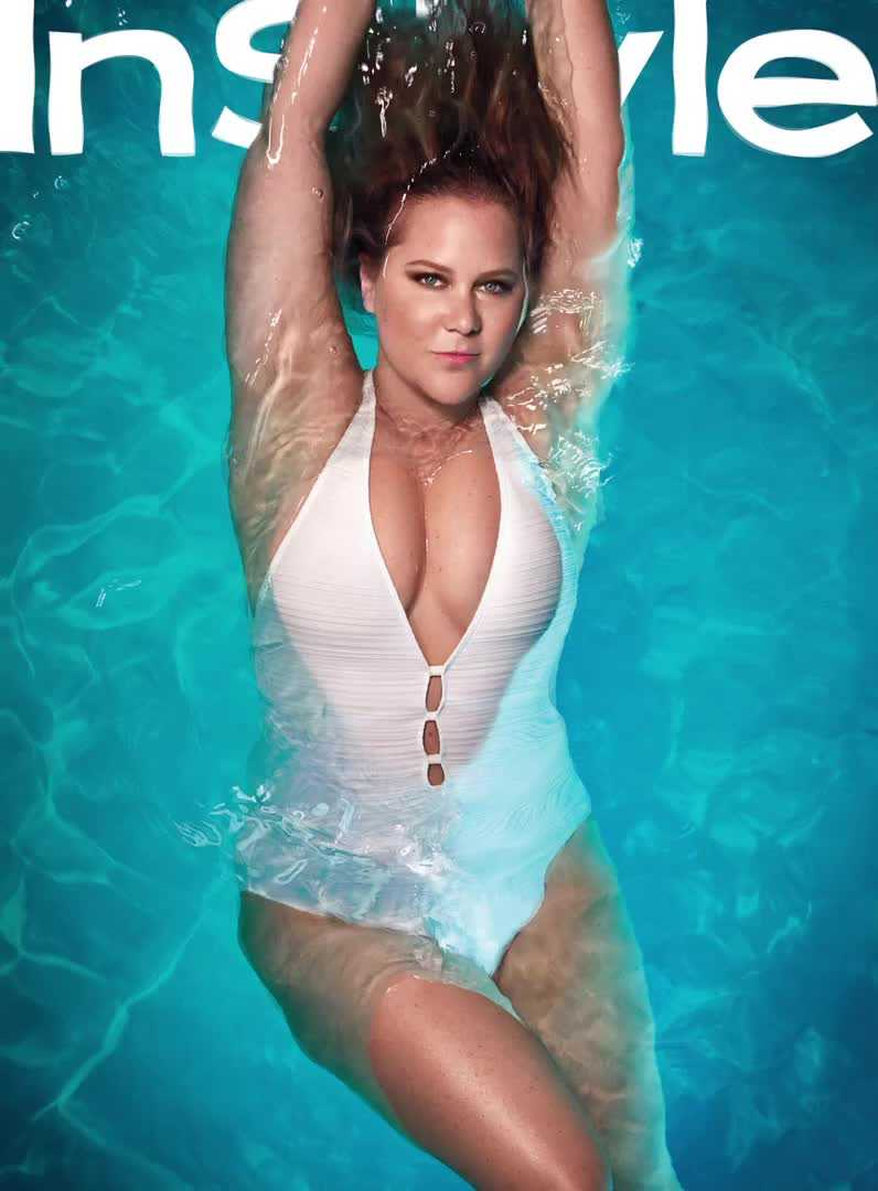 Amy Schumer gets into swimsuits for InStyle May 2017